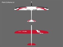 Cylon - E - GFK - weiß/rot