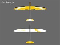 Cylon - E - CFK - gelb/weiß