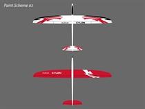 Cylon - E - CFK - weiß/rot