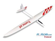 Tomcat GFK - Segler - weiß/rot