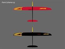 Jarvis - Elektro - CFK - rot/schwarz