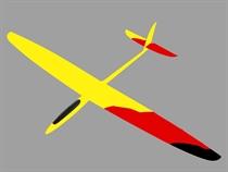 T-CAT - GFK - Gelb / Rot / Schwarz
