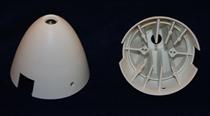 Reisenauer Spinner Kappe 50mm - weiß