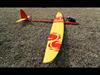 Typhoon E CFK - gelb/rot +Servoset