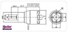 A30-18 M V2 6-Pole + 6,7:1 - Hacker Motor