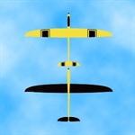 Hornet E GFK (gelb-schwarz)