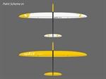 Split - Segler - weiß/gelb