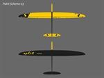 Split - Segler - gelb/schwarz