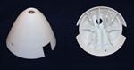Reisenauer Spinner Kappe 54,5mm - weiß